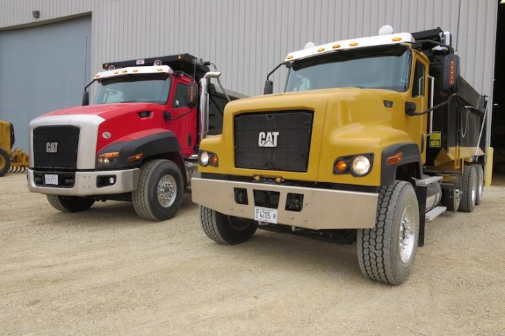 Caterpillar CT681 trucks