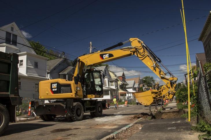Caterpillar M314F, M316F, M322F Wheeled Excavators