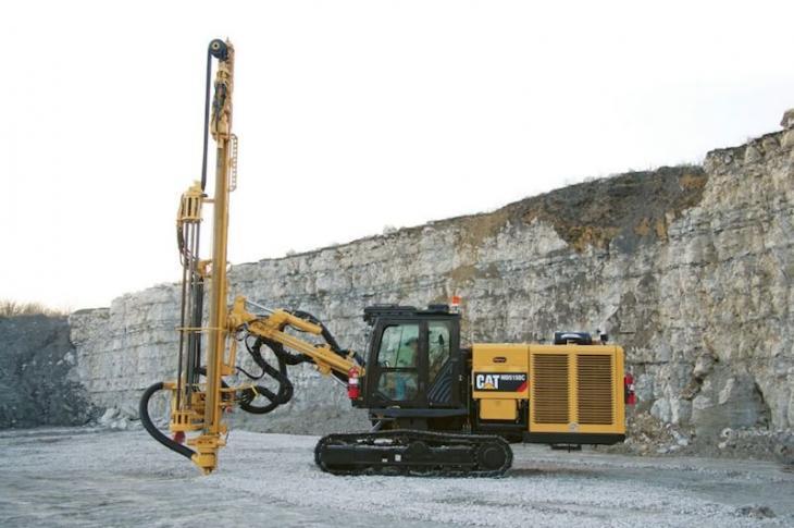 Caterpillar MD5150C Track Drill