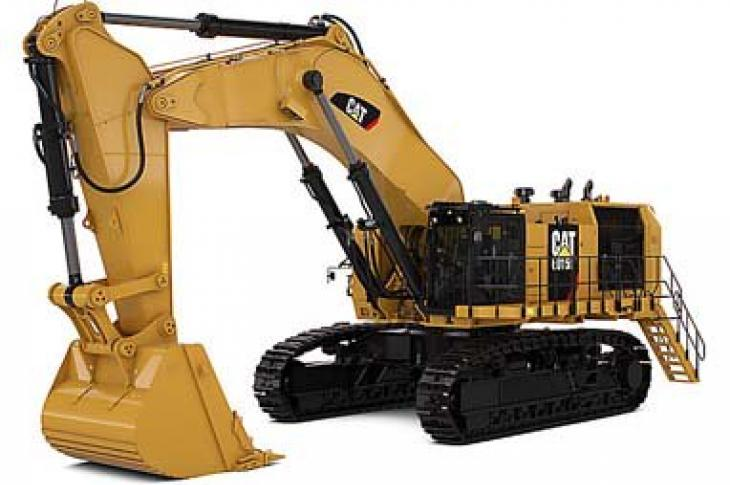 Cat mining shovel