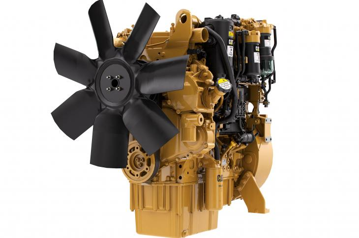The C4.4 engine is aimed at equipment manufacturers who are looking to downsize, and with the company's engine-mounted aftertreatment, it allows machine manufacturers to remove cost and complexity from their installation, the company says.