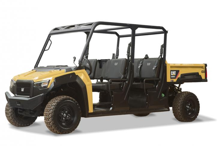 Cat CUV105 D is diesel powered