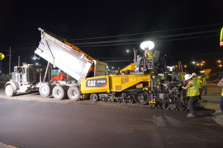 Funding stability is bringing new energy to the asphalt-paving industry