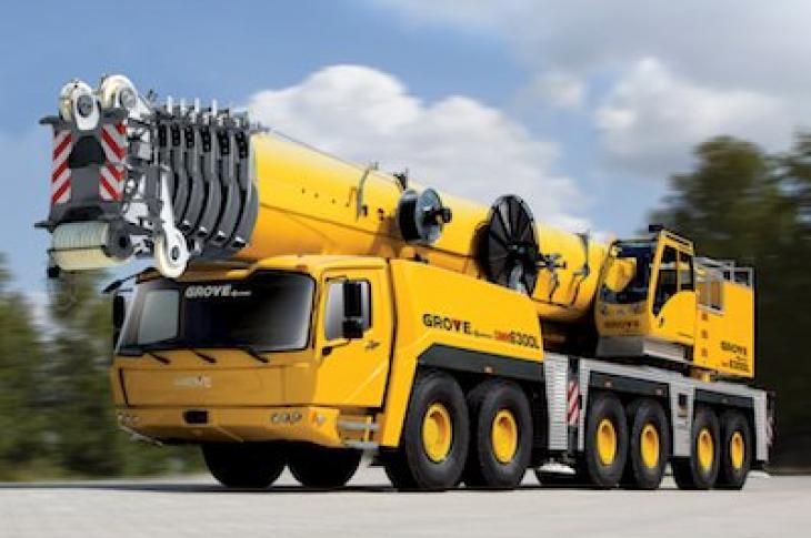 Grove GMK6300L All-Terrain Crane