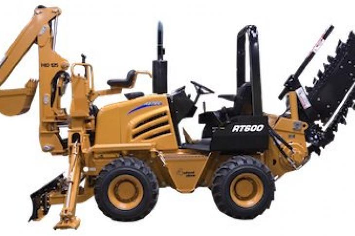 Astec RT560 Ride-on Trencher