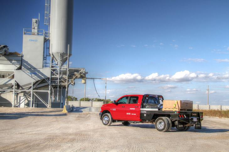 Harper Industries DewEze 1000 Series Flatbed for Work Trucks