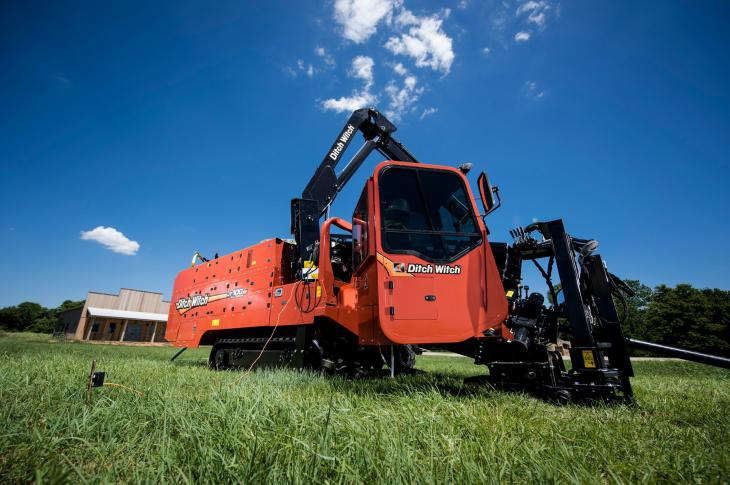 Ditch Witch Upgrades JT100 HDD to Tier 4