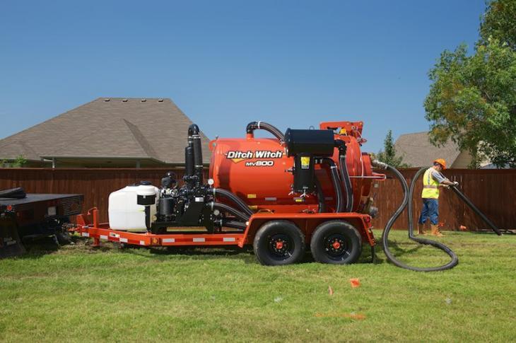 Ditch Witch MV800 Vacuum Excavator