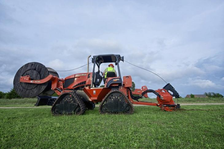 Ditch Witch RT120 Quad Trencher