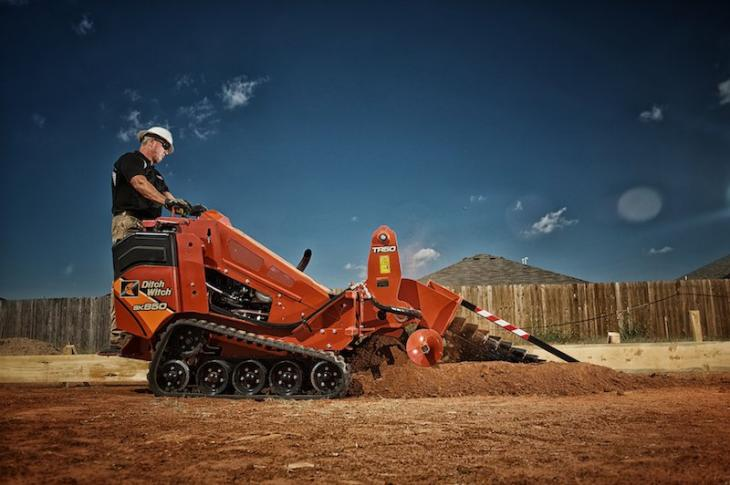 Ditch Witch SK850 Footings Machine