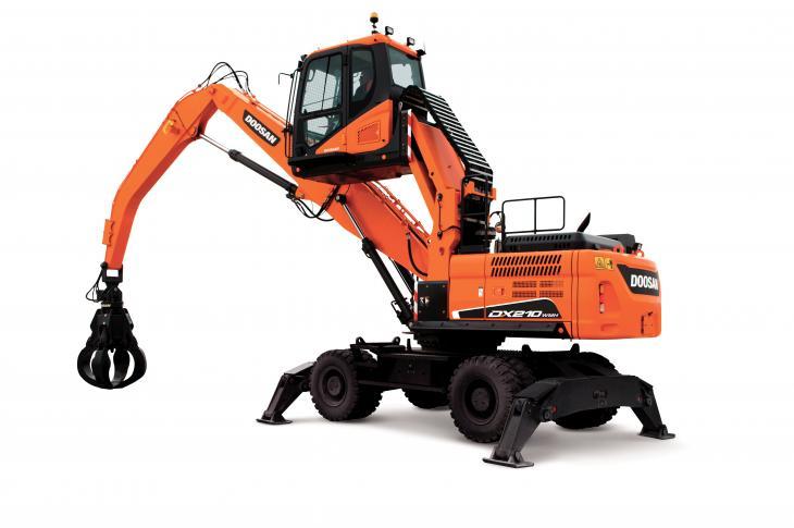 Doosan DX210WMH-5 Material Handler
