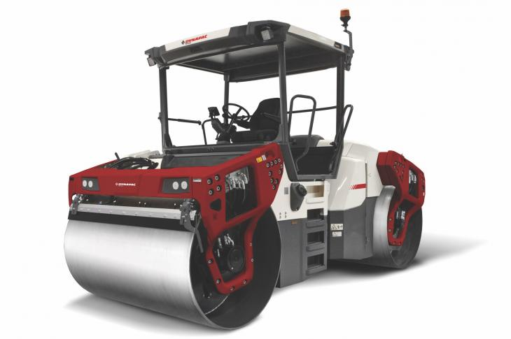 Dynapac CO4200 VI uses a heavy-duty drum shell fabricated from Hardox 450