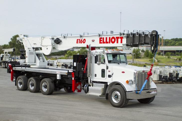 Elliott E160 Truck-Mounted Aerial Platform