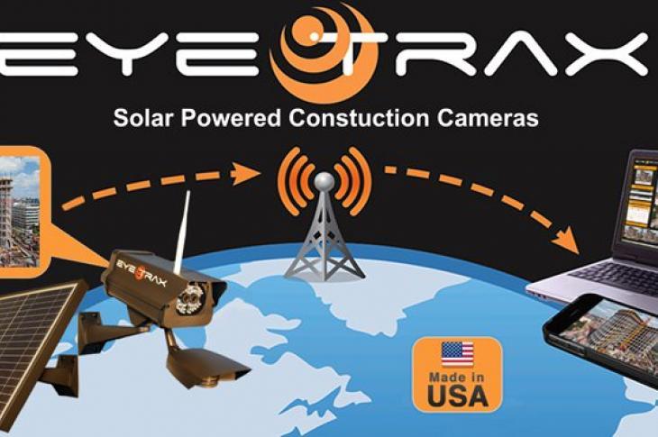 Eye Trax Solar-Powered Security System