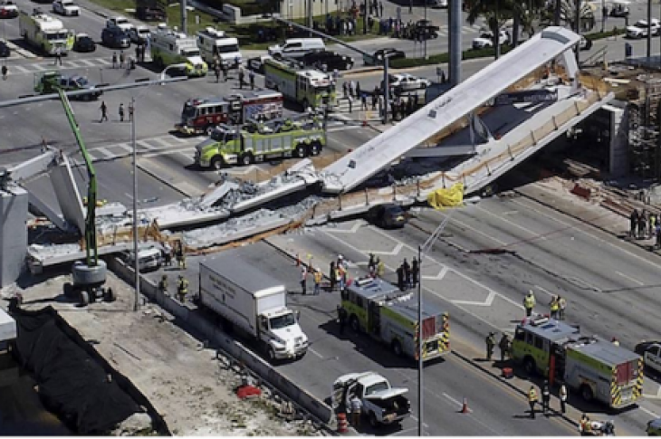 A new report from OSHA regarding last year's collapse of the FIU pedestrian bridge in Miami places considerable blame on the bridge's designer.