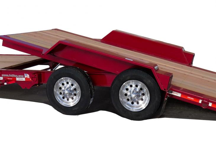The company's IT-I tilt trailers have been redesigned.