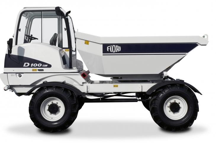 Fiori D100 SW has a load capacity of 11 tons