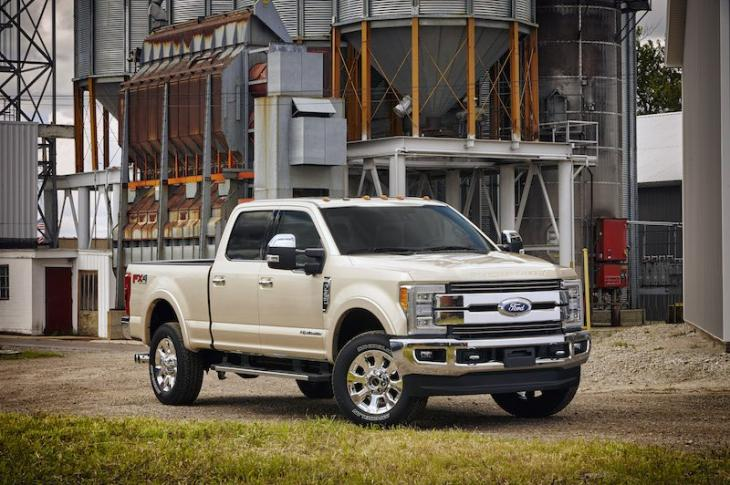 2017 Ford Super Duty Pickup Truck
