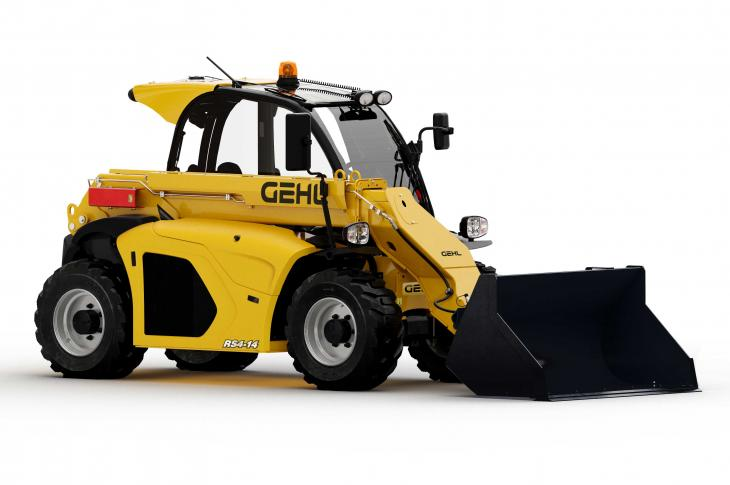 Gehl RS4-14 telehandler reaches to 14 feet 3 inches