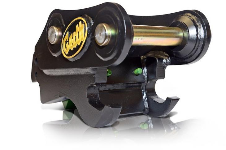 Geith QR40 Mechanical Coupler