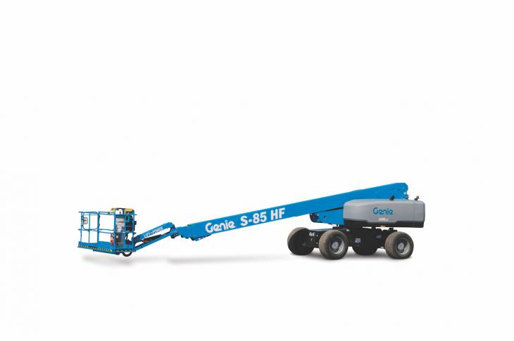Genie S-80 HF aerial work platforms are designed to float on sensitive surfaces