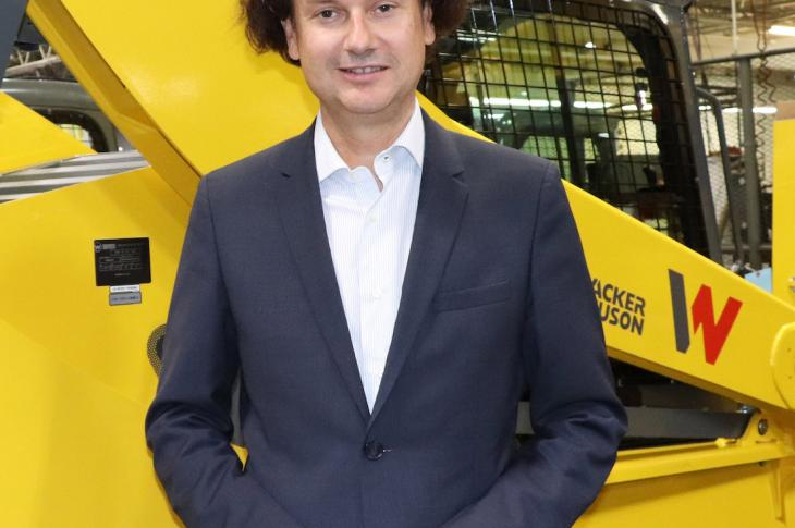 Gert Reichetseder, President/CEO of Wacker Neuson North America.