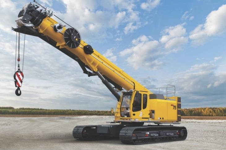 Grove GHC55, GHC75, GHC130 Telescoping Boom Cranes