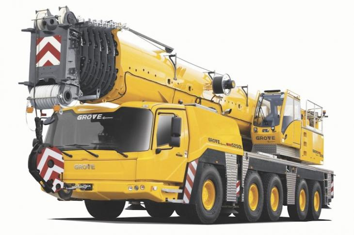 Grove GMK5250L All-Terrain Crane