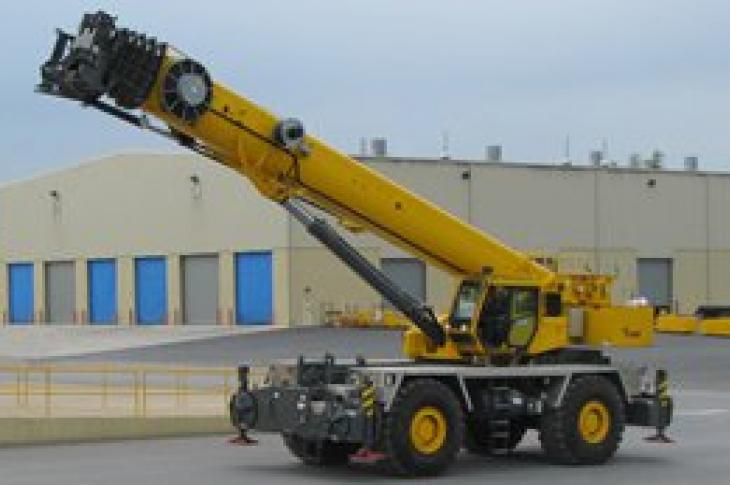Grove RT9150E Rough Terrain Crane