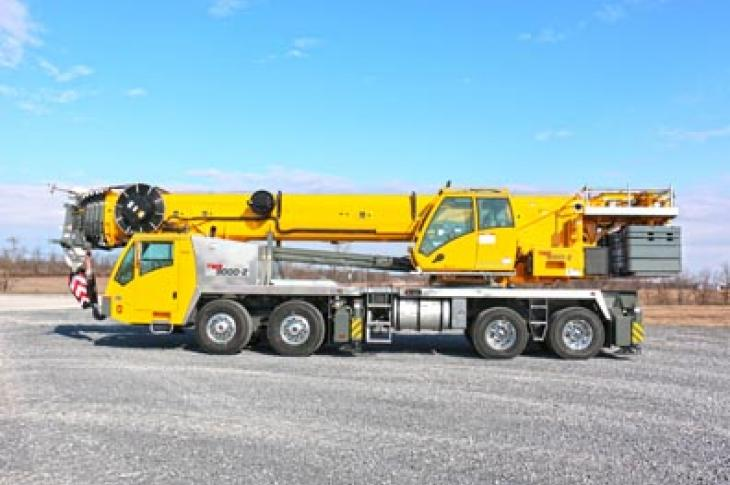 Grove TMS9000 crane features a number of improvements