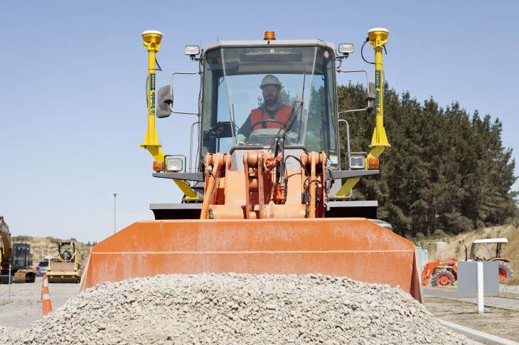 Trimble GCS900 Machine Control Expands to Include Wheel Loaders