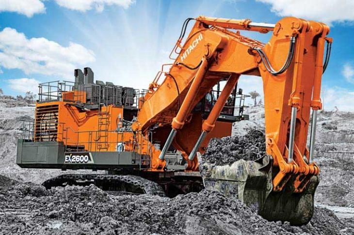 The EX2600-7 is part of the Hitachi EX-7 Series of mining excavators