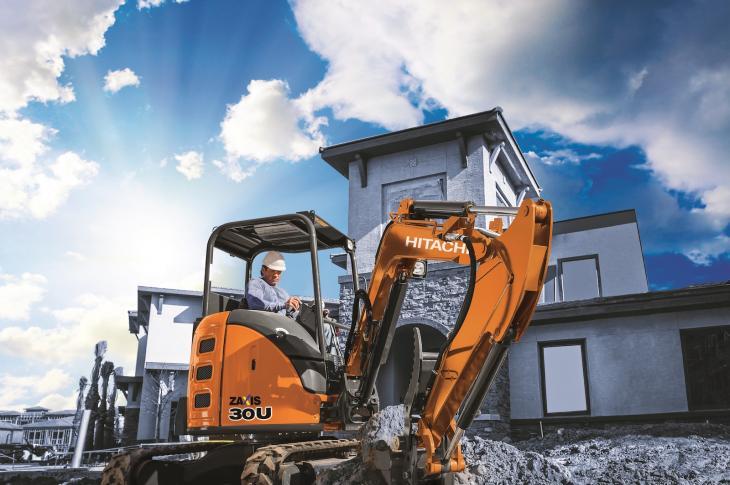 Hitachi ZX30U-5 Compact Excavator