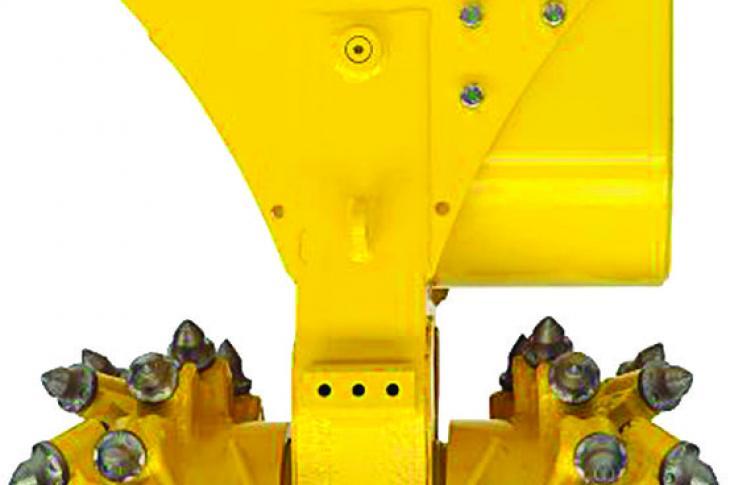 Husqvarna DC 200 Drum Cutter for DXR Demolition Robot Line