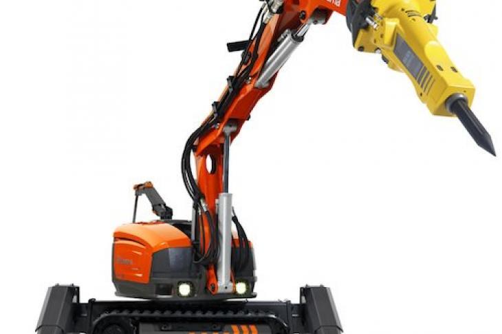 Husqvarna Dxr 270 300 Demolition Robots