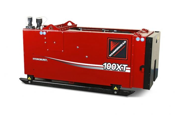 HydroBurst 100 XT Pipe Bursting System Has 99 Tons of Force
