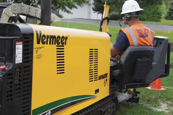 Vermeer D9x13 S3 Navigator Horizontal Directional Drill