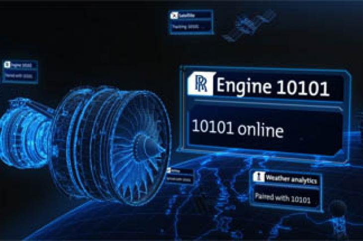 New Rolls-Royce initiative blurs the boundaries of engines, service, and data
