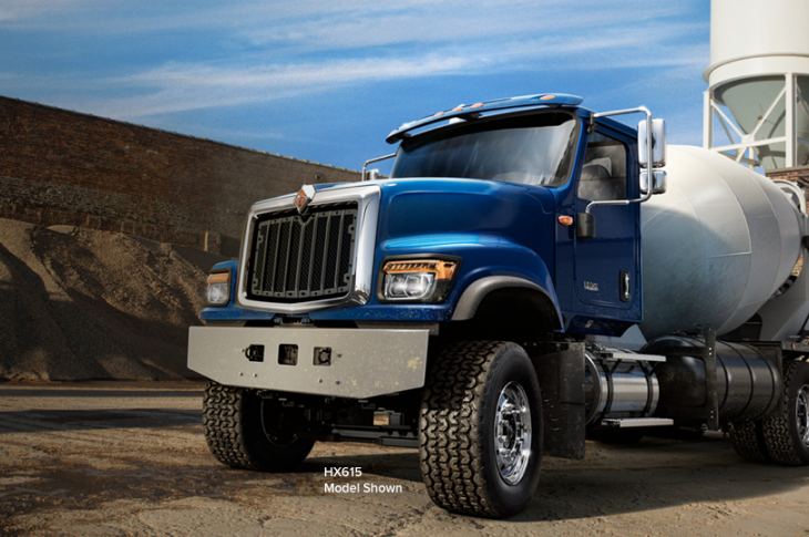 International HX Series of Class 8 Vocational Trucks