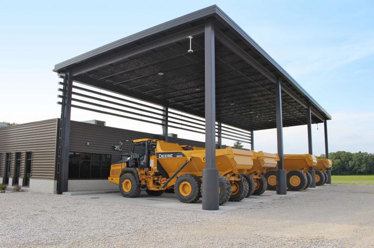 hn Deere completed the construction of a 7,500-square-foot facility in Coal Valley.