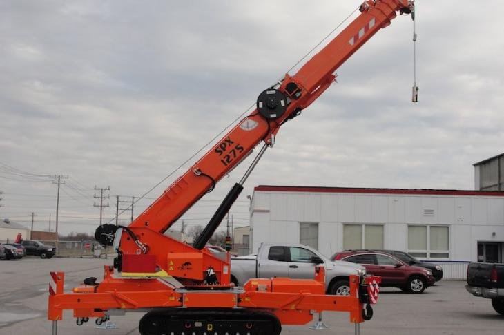 Jekko USA SPX 209, 312, and 1275 Mini-Cranes