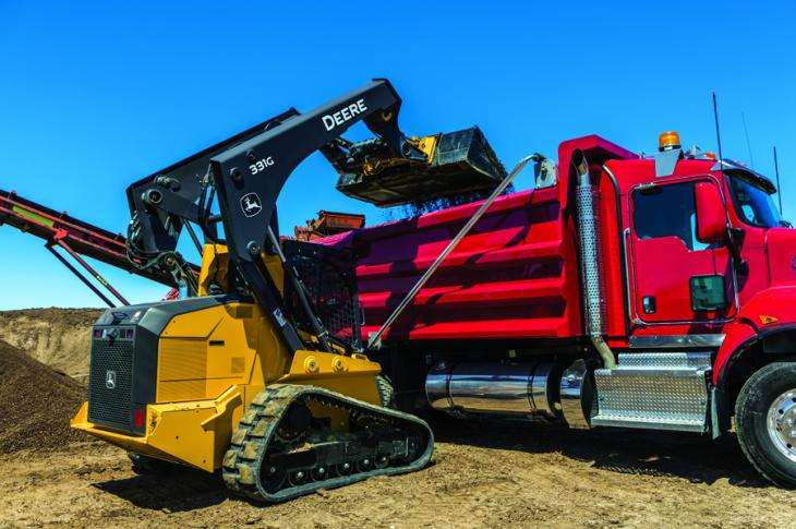Vertical lift compact track loaders have become increasingly sought after.