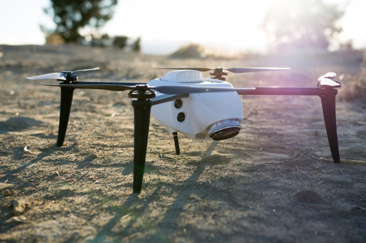Kespry Drone 2.0 Flies Over 30 Minutes Per Flight