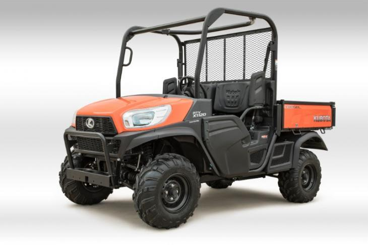 Kubota RTV-X1120 expands the lineup of compact utility vehicles