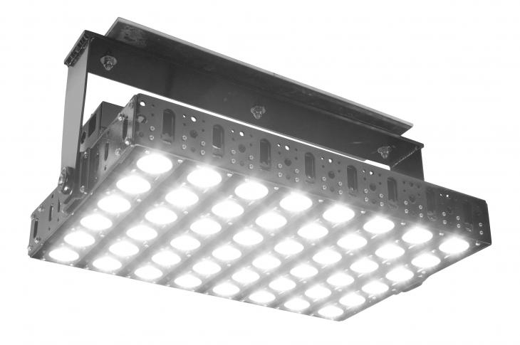 Larson Electronics GAU-HG-500W-LED-SS Heavy-duty LED Crane Light Replaces Metal Halide Lights