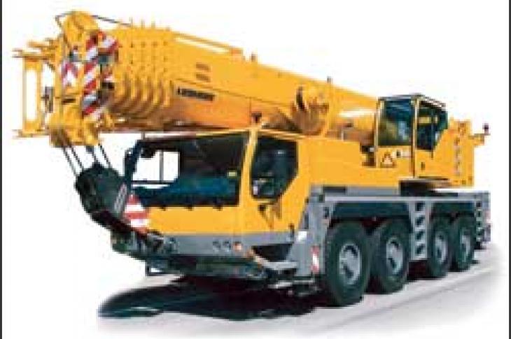Liebherr LTM 1100 Truck Crane