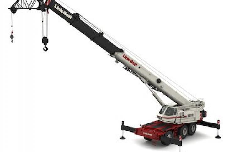 Link-Belt RTC-80110 Series II Rough Terrain Crane