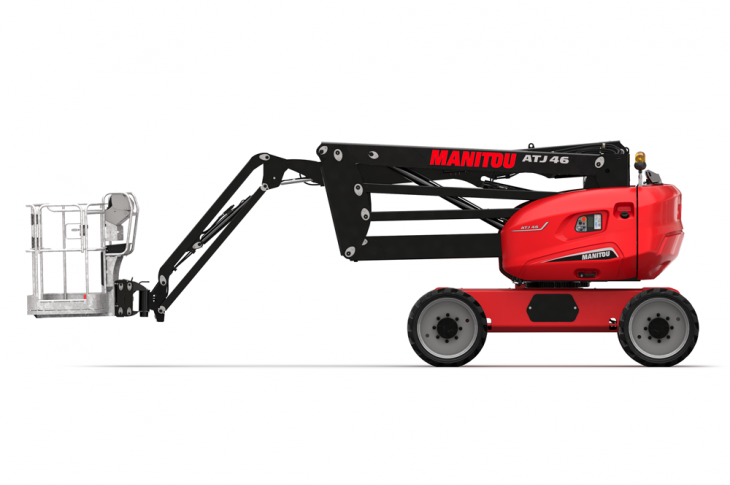 Manitou ATJ 46 has a 24 horsepower Kubota engine