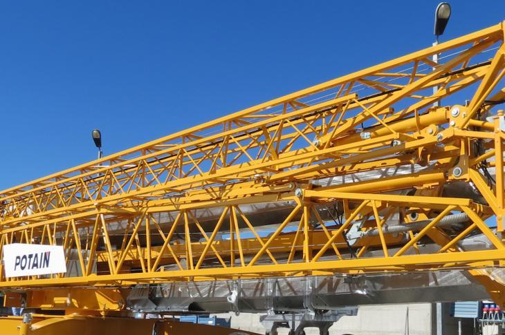 Sneak Peek: Potain Tower Cranes   Construction Equipment