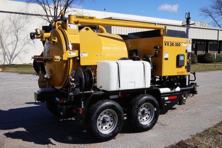 McLaughlin VX30-300 Vacuum Excavator